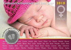 Nederland Geboorte Muntsets