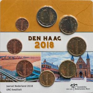 Nederland Euro Unc sets en series
